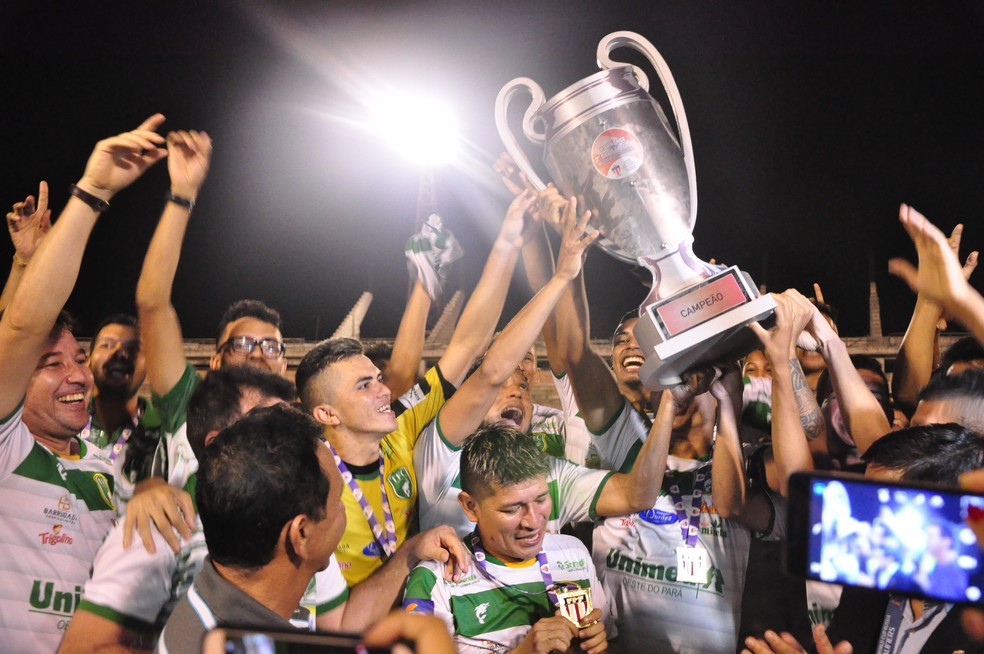 Tapajós foi campeão da Segundinha do Paraense em 2018 — Foto: Gustavo Campos/GloboEsporte.com