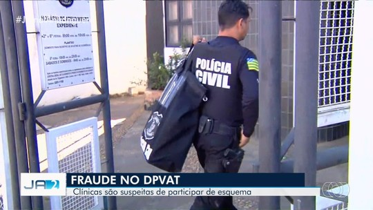 Polícia realiza operação em clínicas suspeitas de fraudes no seguro DPVAT, em Goiânia