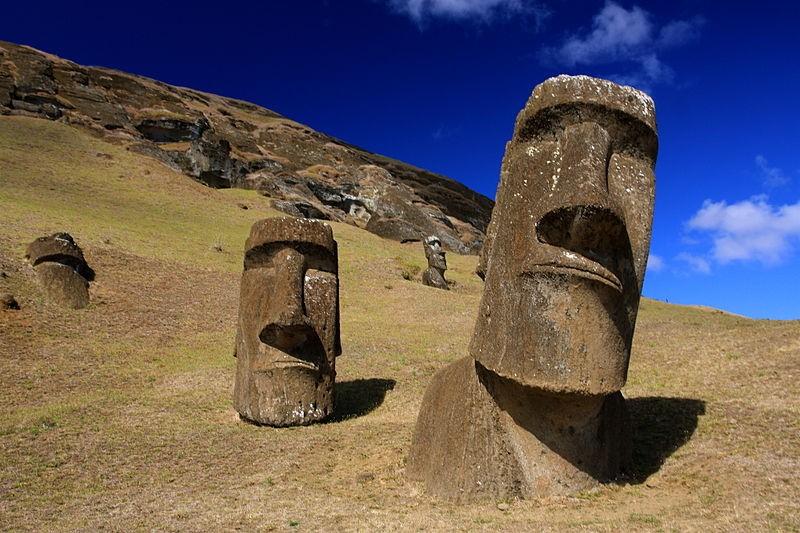 Mistério da localização das estátuas da Ilha de Páscoa é revelado