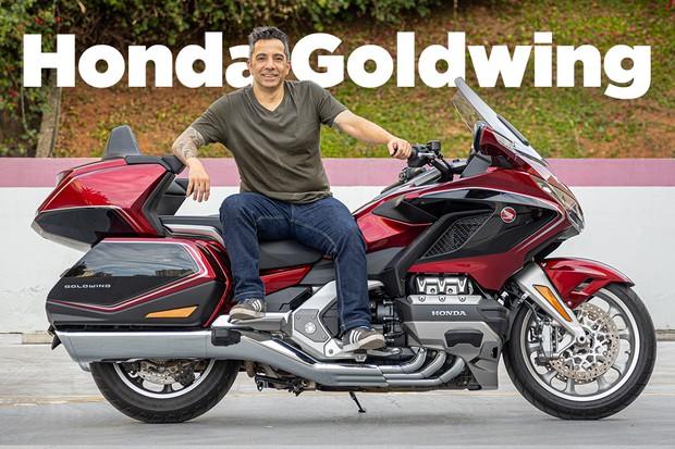 Thumb temporária: Vídeo Honda Goldwing (Foto: Autoesporte)