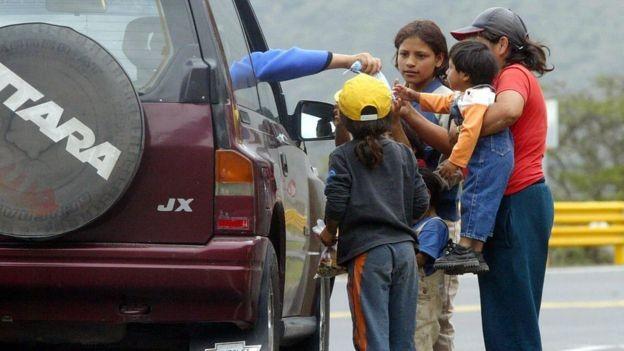 O Equador iniciou um plano de austeridade em meio a um forte endividamento (Foto: Getty Images via BBC News Brasil)