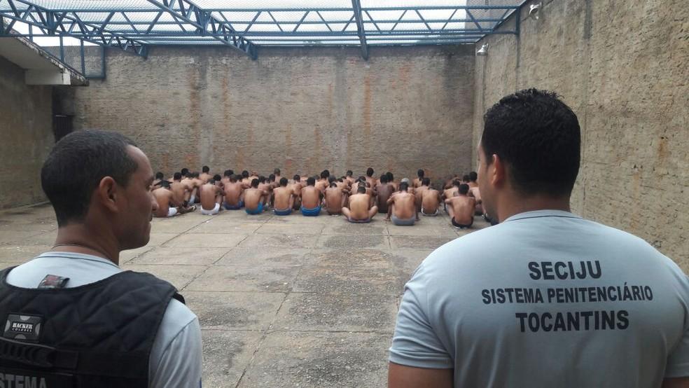 Vistoria foi feita em 41 unidades prisionais do estado (Foto: Seciju/Divulgação)