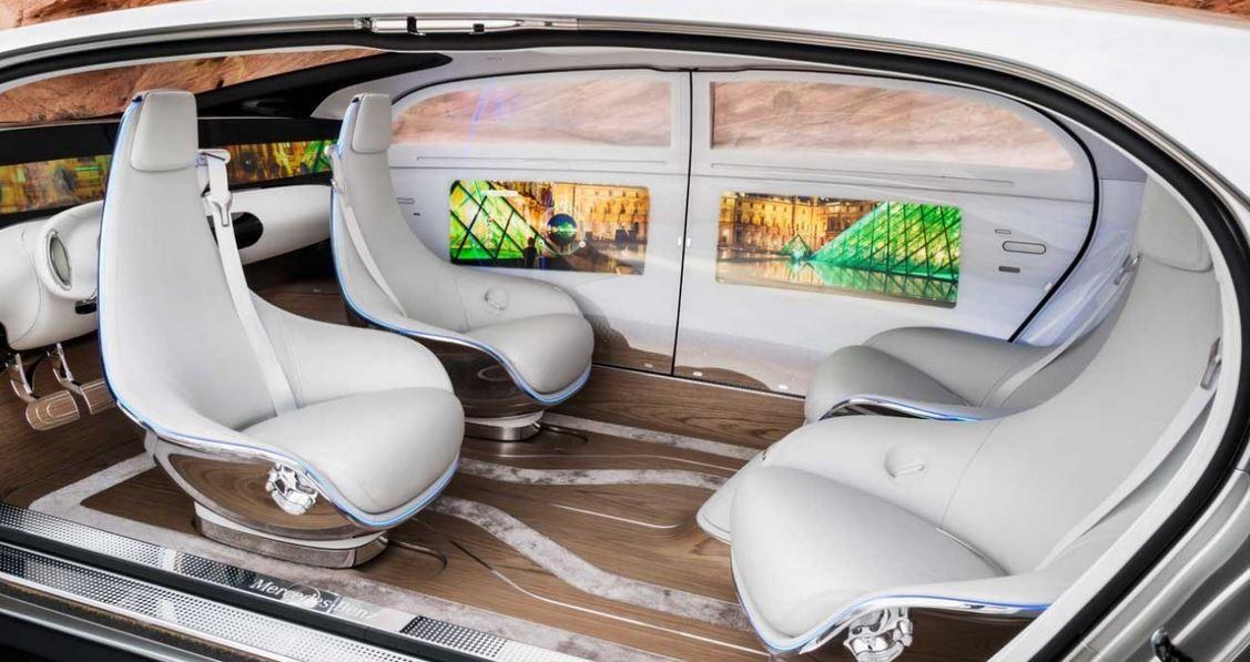 Táxi sem motorista -- Mercedes apresenta e promete comercializar em três anos