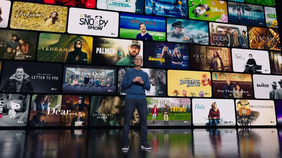 Tim Cook, presidente-executivo da Apple — Foto: Reprodução/YouTube