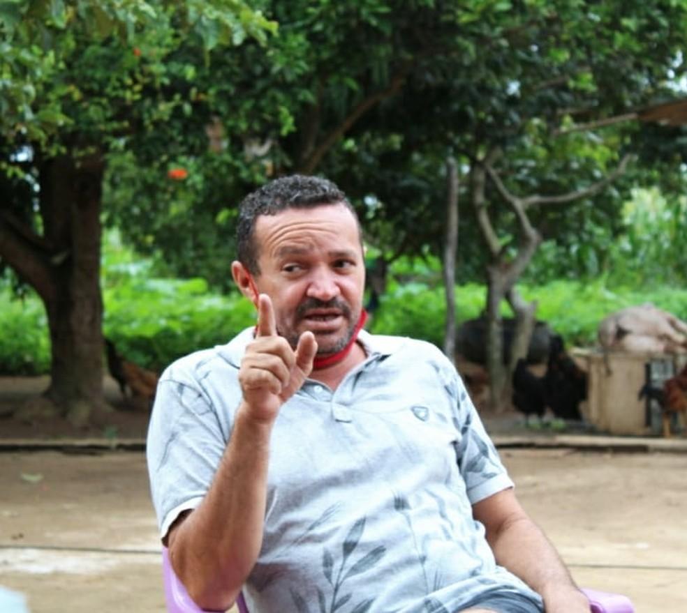Vice-prefeito de Moreilândia, Edmundo Coelho Junior, de 45 anos, morre vítima de câncer — Foto: Arquivo da família