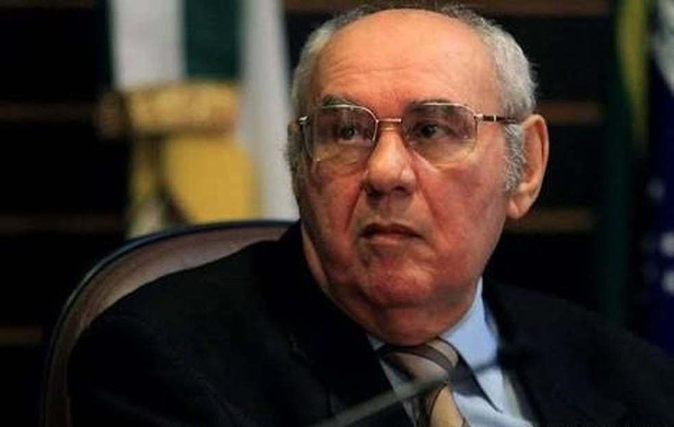 Delegado aposentado Maurílio Pinto de Medeiros morre no RN  (Foto: Canindé Soares)