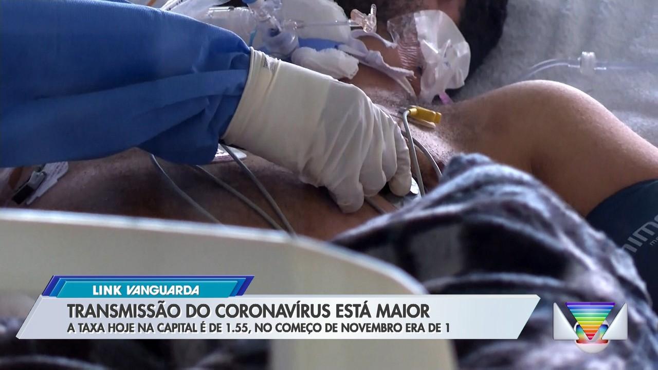 Transmissão do coronavírus está maior