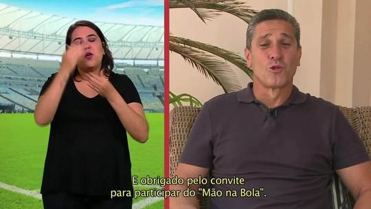 """""""Mão na Bola"""" 2 mostra golaços do Brasileiro com legendas em libras"""