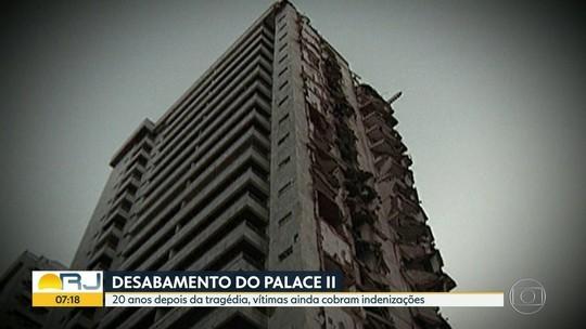Queda do Palace II faz 20 anos e vítimas seguem sem indenização