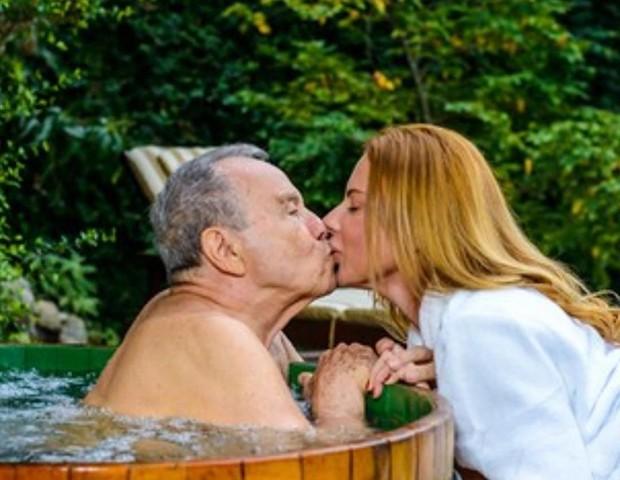 Stenio Garcia e a mulher, Marilene Saade (Foto: Reprodução Instagram)