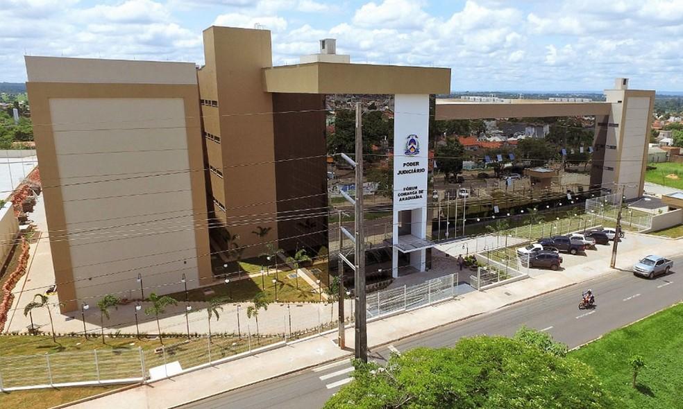 Julgamento foi realizado em Araguaína — Foto: Marcos Filho/Governo do Tocantins