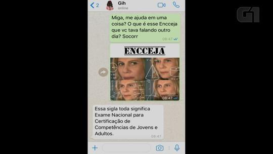 Encceja: conversa no WhatsApp explica como fazer a inscrição, datas e detalhes da prova