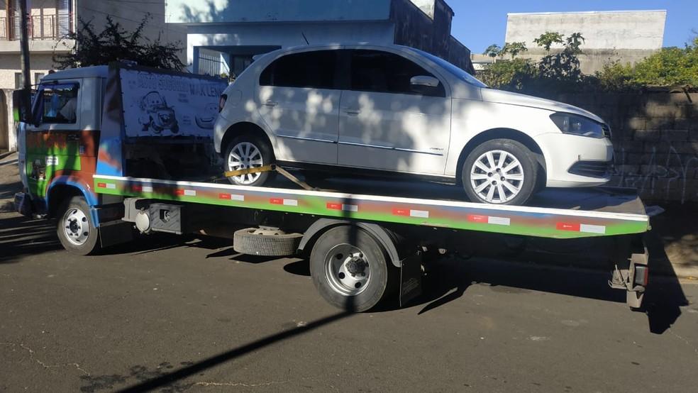 Homem é preso suspeito de roubar caminhão carregado de etanol em Salto — Foto: Divulgação/Polícia Rodoviária de Salto