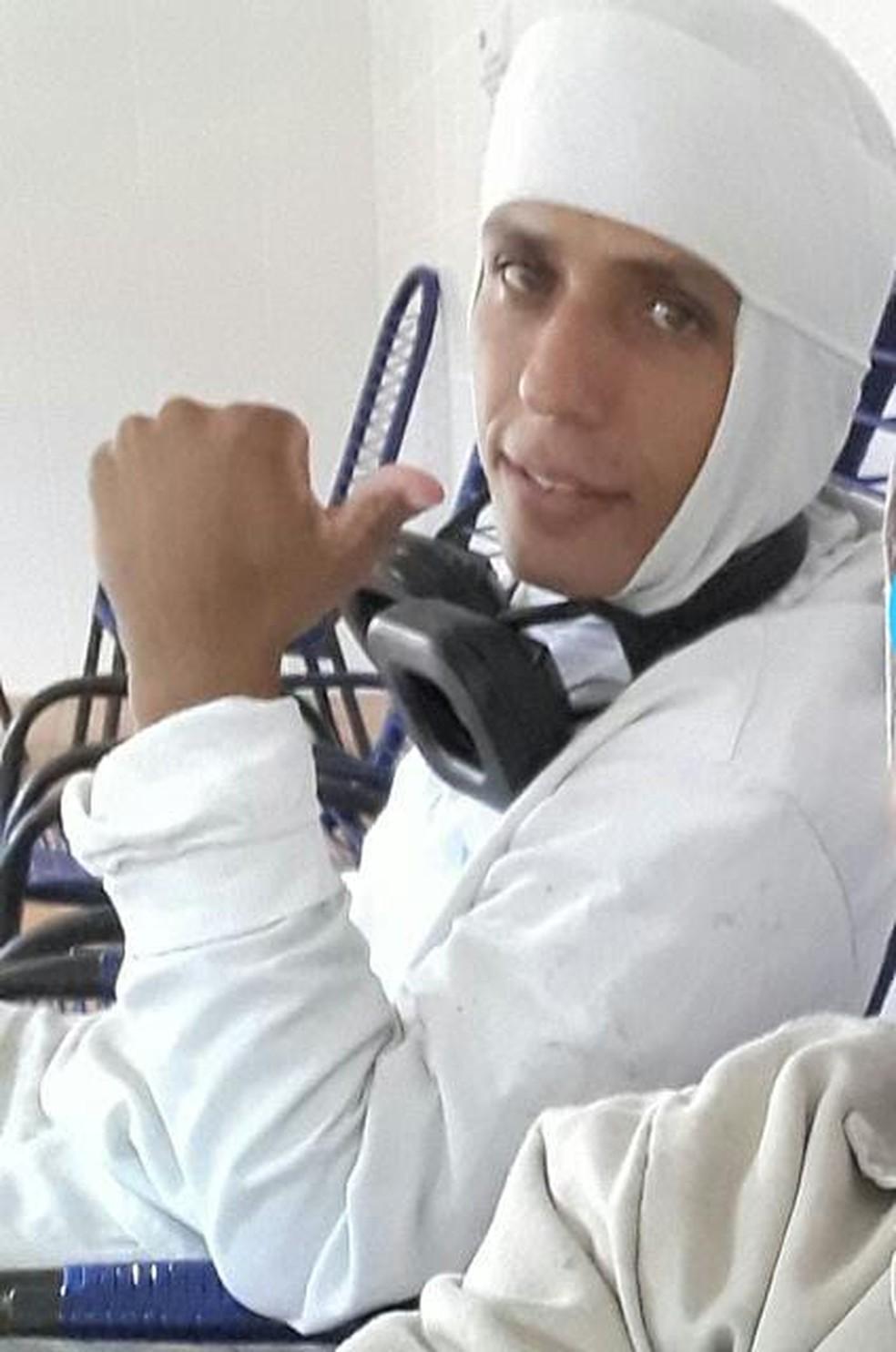 Rodrigo Lopes, funcionário que morreu ao cair em uma máquina de moer carne em Eldorado (MS). — Foto: Polícia Civil/Divulgação