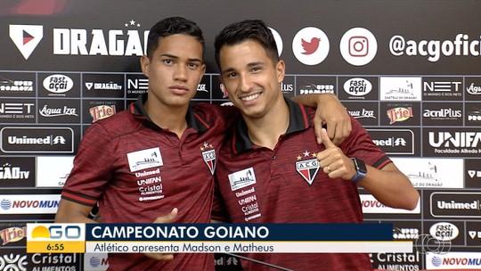 Jorginho faz trabalho específico de condicionamento e desfalca o Atlético-GO nas primeiras rodadas