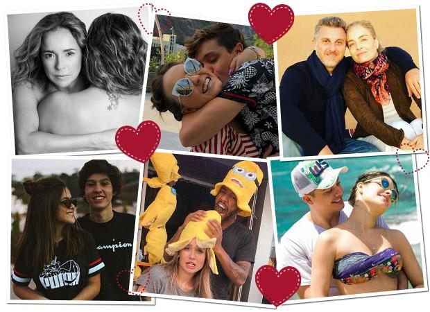 Dia dos namorados dos famosos (Foto: Reprodução/ Instagram)