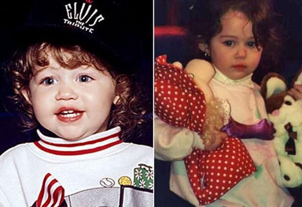 E essas buchechas da Miley Cyrus, que fofura! (Foto: Reprodução )