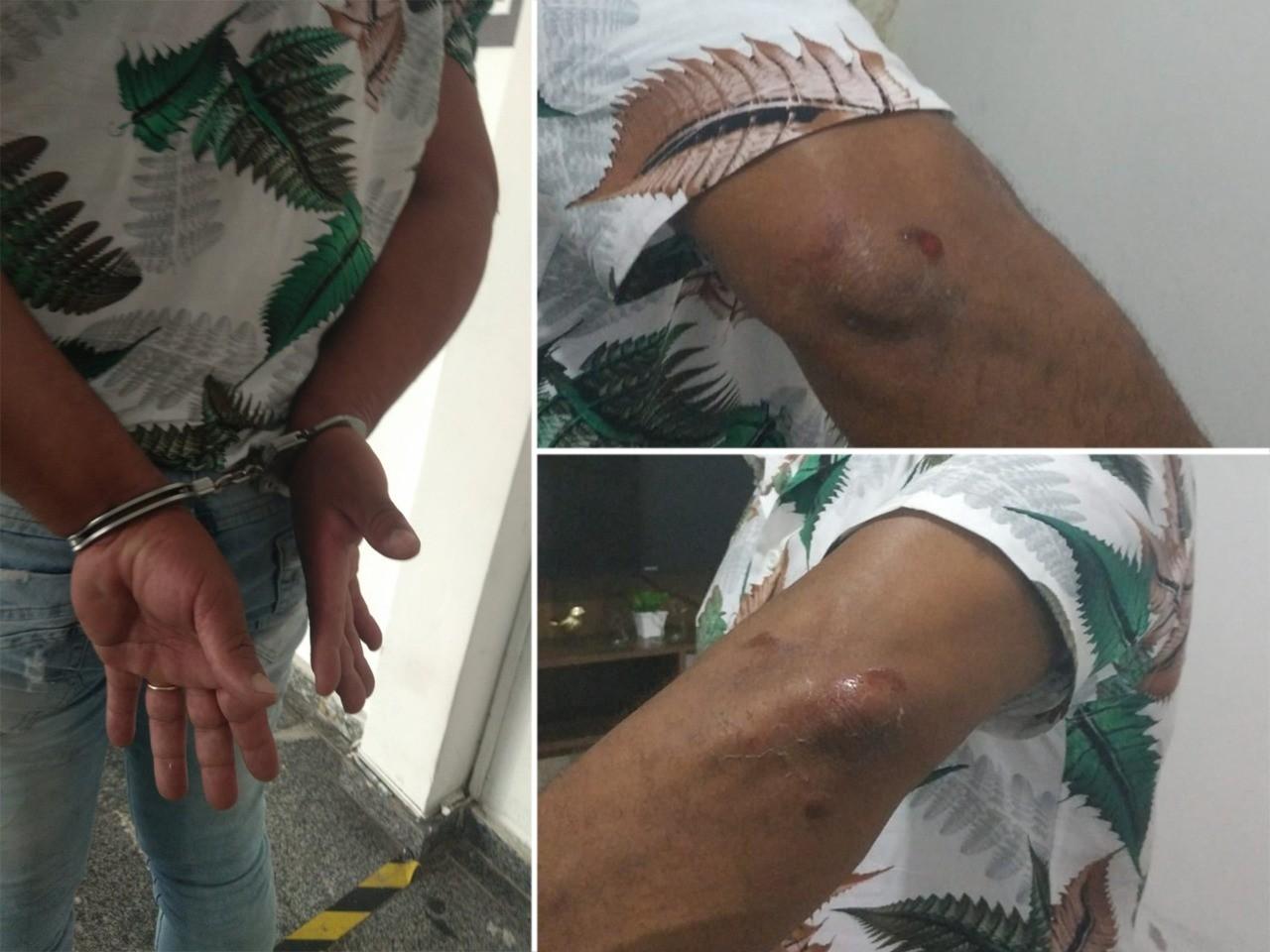 Agente penitenciário é algemado e relata uso de 'mata-leão' em abordagem da PM de SP: 'Acham que só eles são policiais'