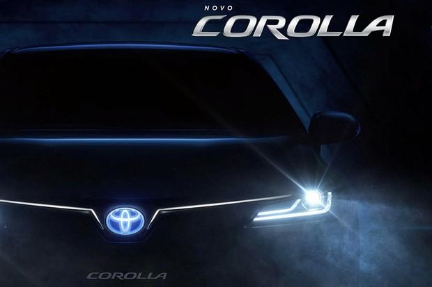 Teaser Novo Toyota Corolla 2020 (Foto: Reprodução)