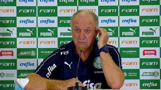 """Felipão diz que Deyverson fica no Palmeiras: """"É da minha confiança"""""""