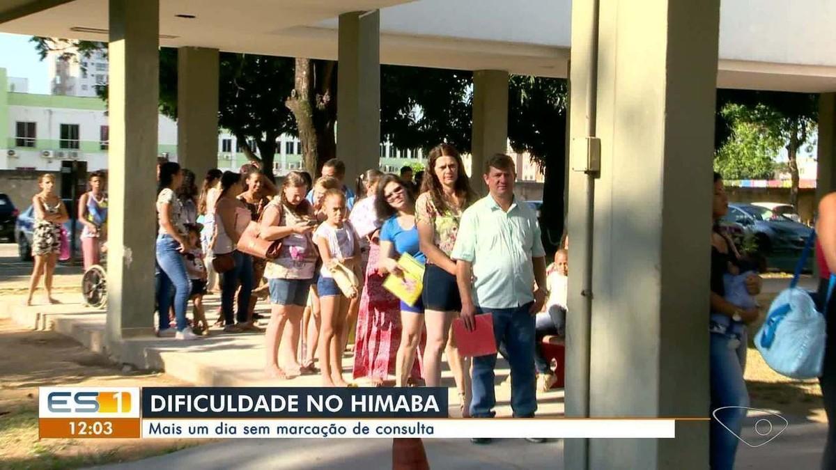 Pacientes não conseguem marcar consultas e exames no Himaba, em Vila Velha, ES - G1