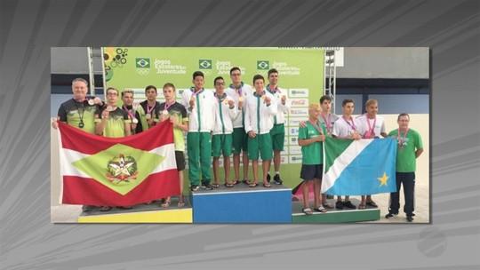 Mais medalhas para atletas de MS nos Jogos Escolares da Juventude