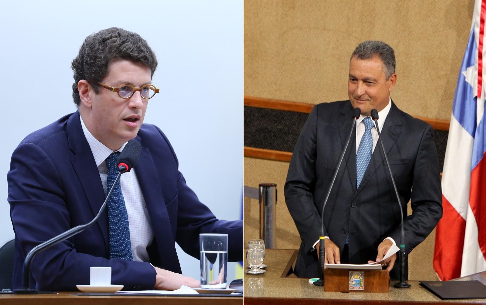 Governador da Bahia e ministro do Meio Ambiente discutem em rede social por causa de óleo nas praias do Nordeste - Notícias - Plantão Diário