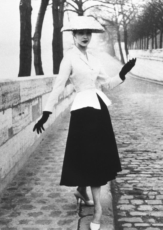 New Look da Dior, 1947 (Foto: Getty Images)