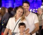 Juliana Silveira com o marido e o filho | Reprodução/Instagram