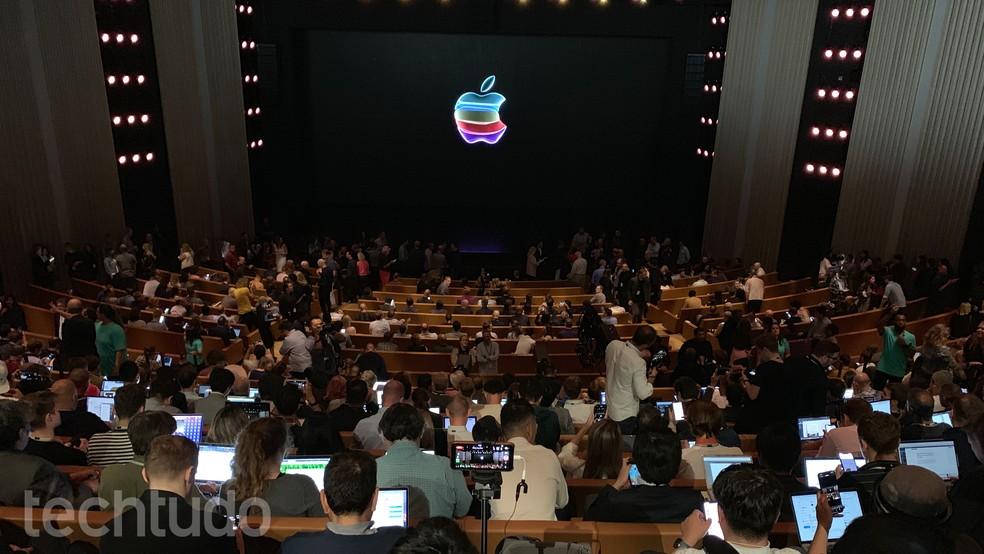 Evento de lançamento do iPhone 11 — Foto: Thássius Veloso/TechTudo