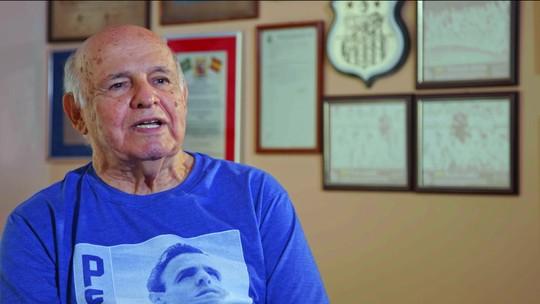 """Roberto Carlos e Pepe como protagonistas do quarto episódio de """"Canhotas"""" no Esporte Espetacular"""