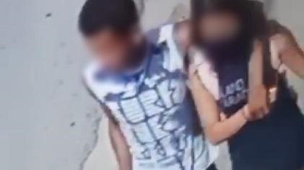 Polícia prende suspeito de ameaçar e estuprar garota de 13 anos em Fortaleza  — Foto: Reprodução