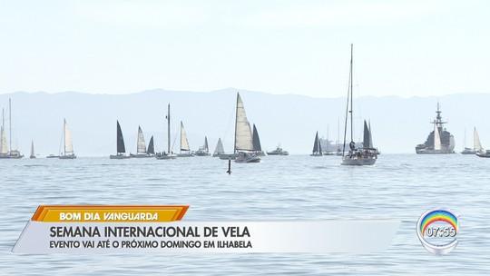 Sob o comando de Lars Grael, Maya Gabeira se aventura em competição de vela no litoral de SP