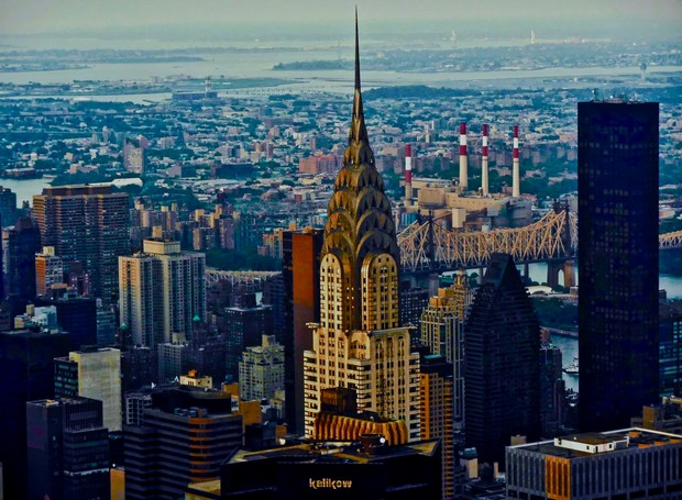 Chrysler Building fica localizado em Nova York (Foto: Flickr / Andreas Komodromos)