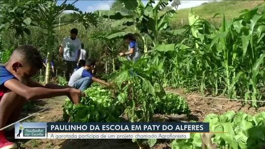 Paulinho da Escola participa de projeto chamado Agrofloresta em Paty do Alferes