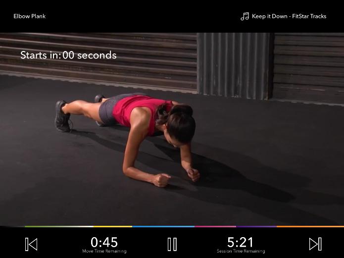 FitStar oferece treinos personalizados para quem deseja praticar atividades físicas e, com isso, emagrecer (Foto: Reprodução/Lívia Dâmaso)