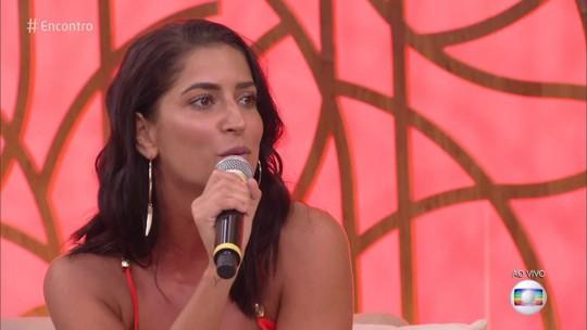 Maria Joana conta como expressa seus sentimentos: 'Falo eu te amo o tempo todo'