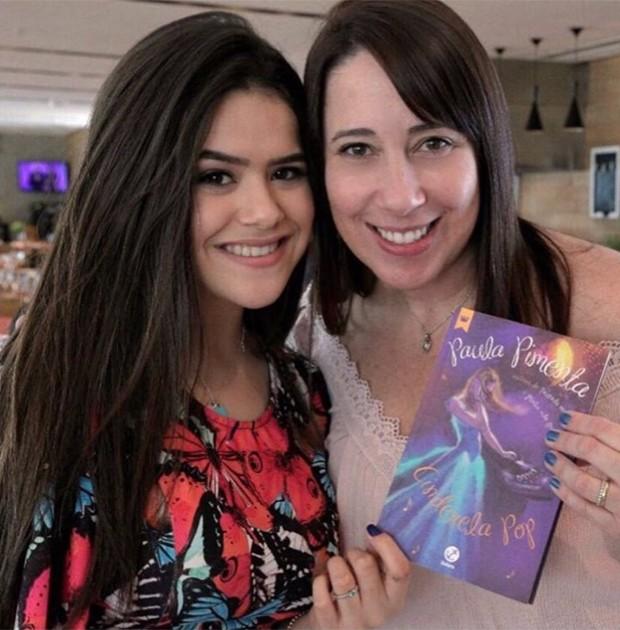 Maisa Silva e Paula Pimenta (Foto: Reprodução/Twitter)