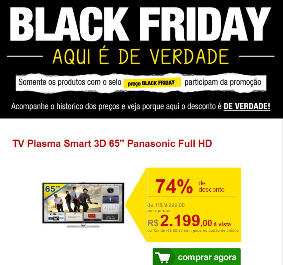 Falsas mensagens de e-mail sobre a Black Friday podem ser golpe de phishing — Foto: Divulgação/Kaspersky