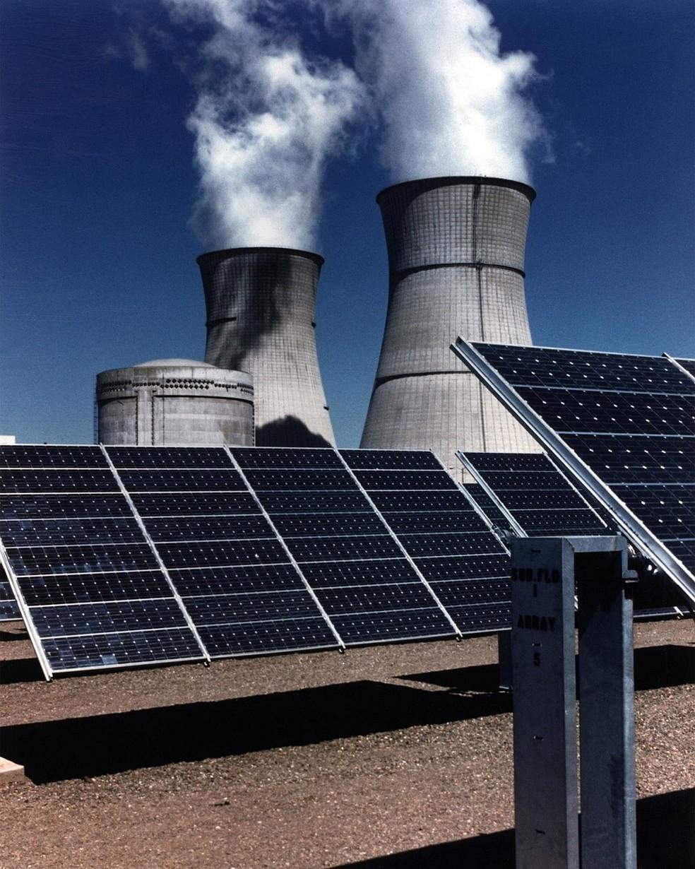 Usina Solar — Foto: Pixabay