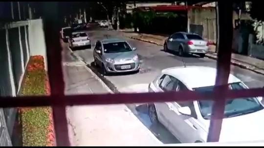 Detento do regime semiaberto é executado a caminho de cartório, onde ia registrar filha; veja vídeo