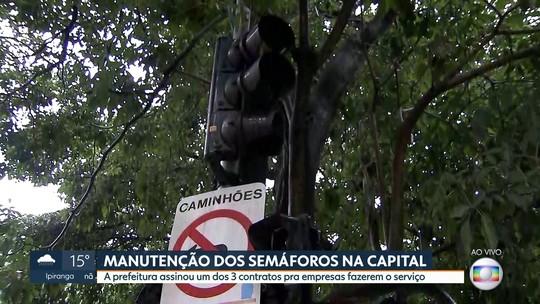 Prefeitura de SP assina um dos contratos com empresas de semáforos