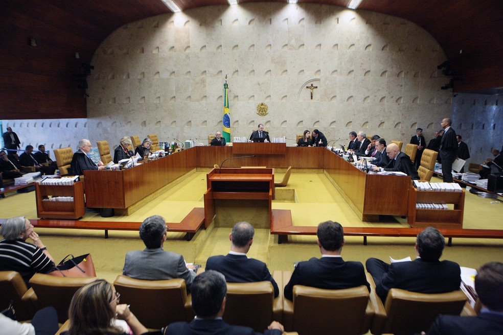 Plenário do Supremo Tribunal Federal (STF) — Foto: Carlos Moura / STF