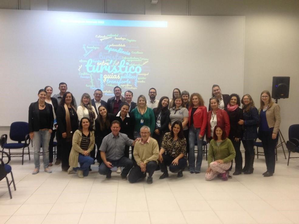 Evento em Blumenau sobre Destinos Turísticos Inteligentes — Foto: Mário Augusto São Thiago