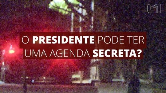 Presidente pode ter reuniões secretas? entenda as regras