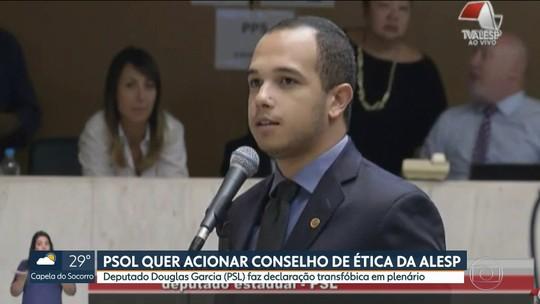 PSOL quer pedir cassação de deputado Douglas Garcia, do PSL