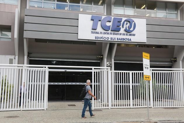 Fachada do Tribunal de Contas do Estado do Rio (TCE-RJ)