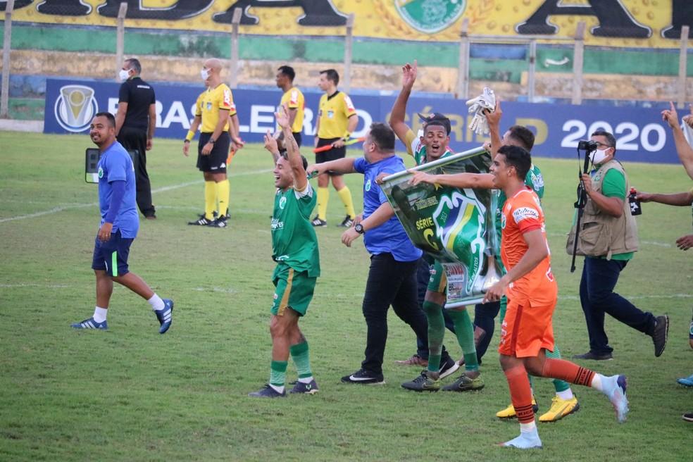 Altos vai disputar a Série C pela primeira vez — Foto: Renan Morais