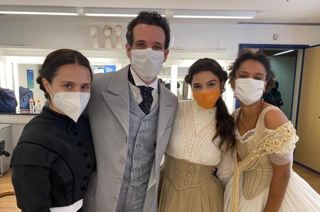 Daphne Bozaski, Mouhamed Harfouch, Gabriela Medvedovski e Heslaine Vieira  (Foto: Arquivo pessoal)