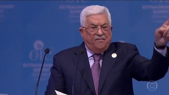 Presidente palestino diz que decisão dos EUA sobre Jerusalém é 'maior dos crimes'